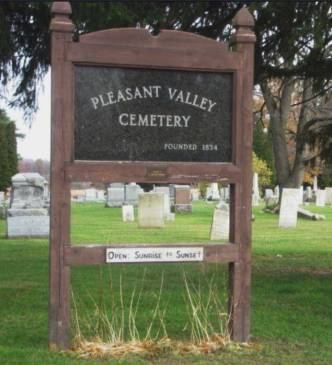 Pleasant Valley Cemetery in Piffard