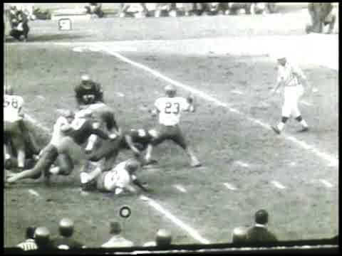 November 28, 1963. Yankee Stadium. Notre Dame vs. Syracuse