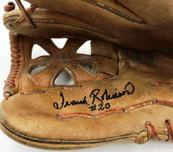 Rare 1960's Frank Robinson Signed Game Model Baseball Glove PSA DNA COA $1,532.48 (sportsmemorabilia.com)