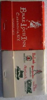 [Editor's note: About ten years ago, at a garage sale I bought a couple of hundred vintage matchbooks from restaurants around western and central New York, mostly forgotten in the attic. George's piece inspired me to retrieve two matchbooks of the Brea Loch Inn. From David Kramer's collection.]
