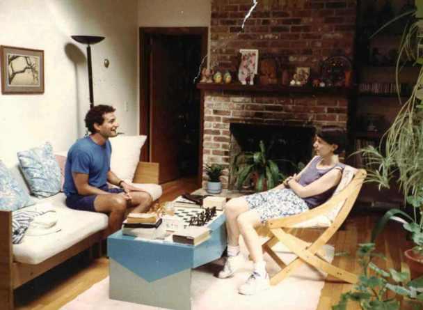 (left) David and Leslie Kramer, 31 Ledgewood Rd, Kingston, RI, 1994