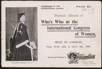 Souvenir Album - International Congress of Women