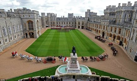 The Great Quadrangle at Windsor Castle