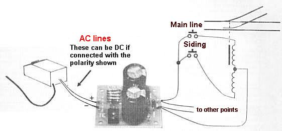model train wiring diagram for cdu