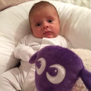 My nephew Sebastian