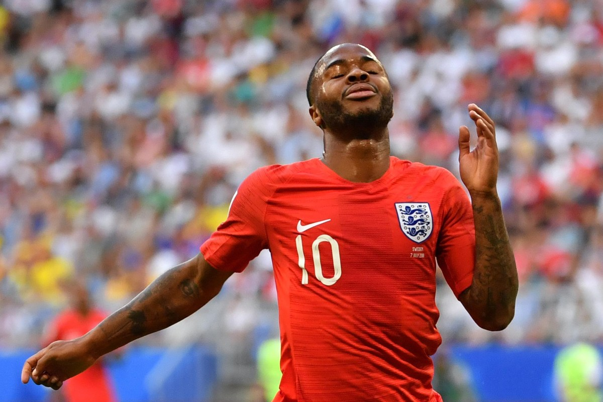 Manchester City Star Raheem Sterlings Form For England Is