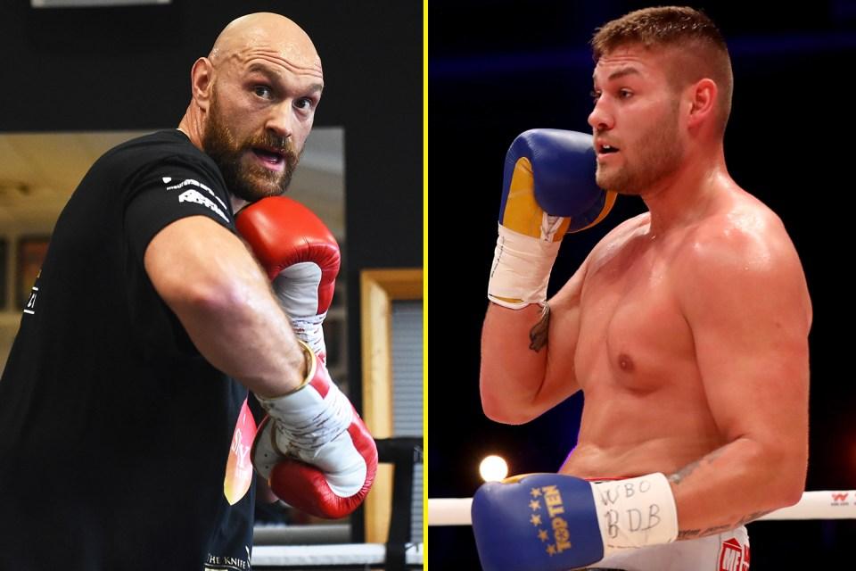 Tyson Fury Sends Hilarious Video Message To Eddie Hearn