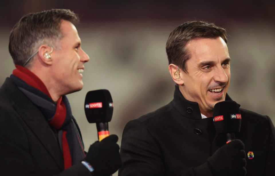 Jamie Carragher Says Gary Neville Will Fly To Papua New Guinea If Liverpool Beat Manchester