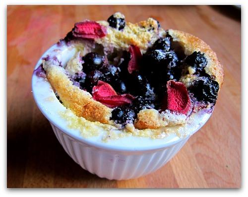berry cake pudding