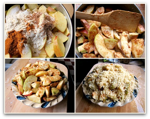 best easy apple pie recipe for filling mix and assembly