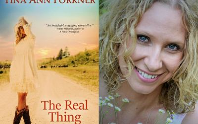 Let's Celebrate Tina Ann Forkner's THE REAL THING