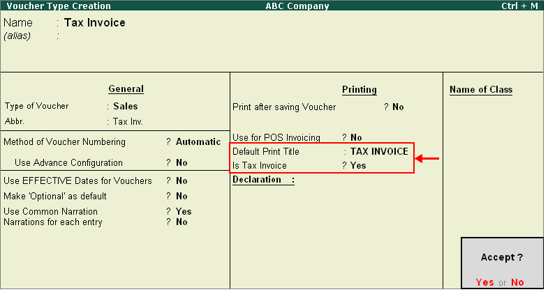 How do I create a Tax Invoice voucher type?  wwwTallyERP9BookCom - how do i create an invoice