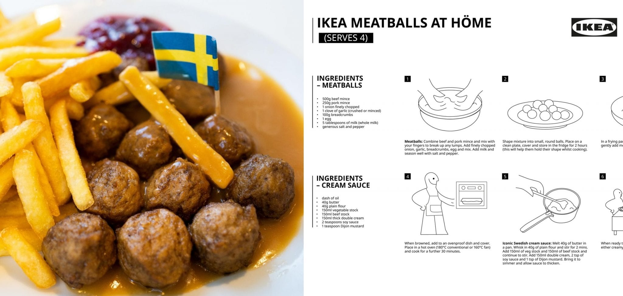 Here S The Official Recipe For Those Iconic Ikea Meatballs You Re Craving