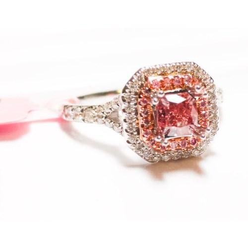 Medium Crop Of Pink Diamond Ring