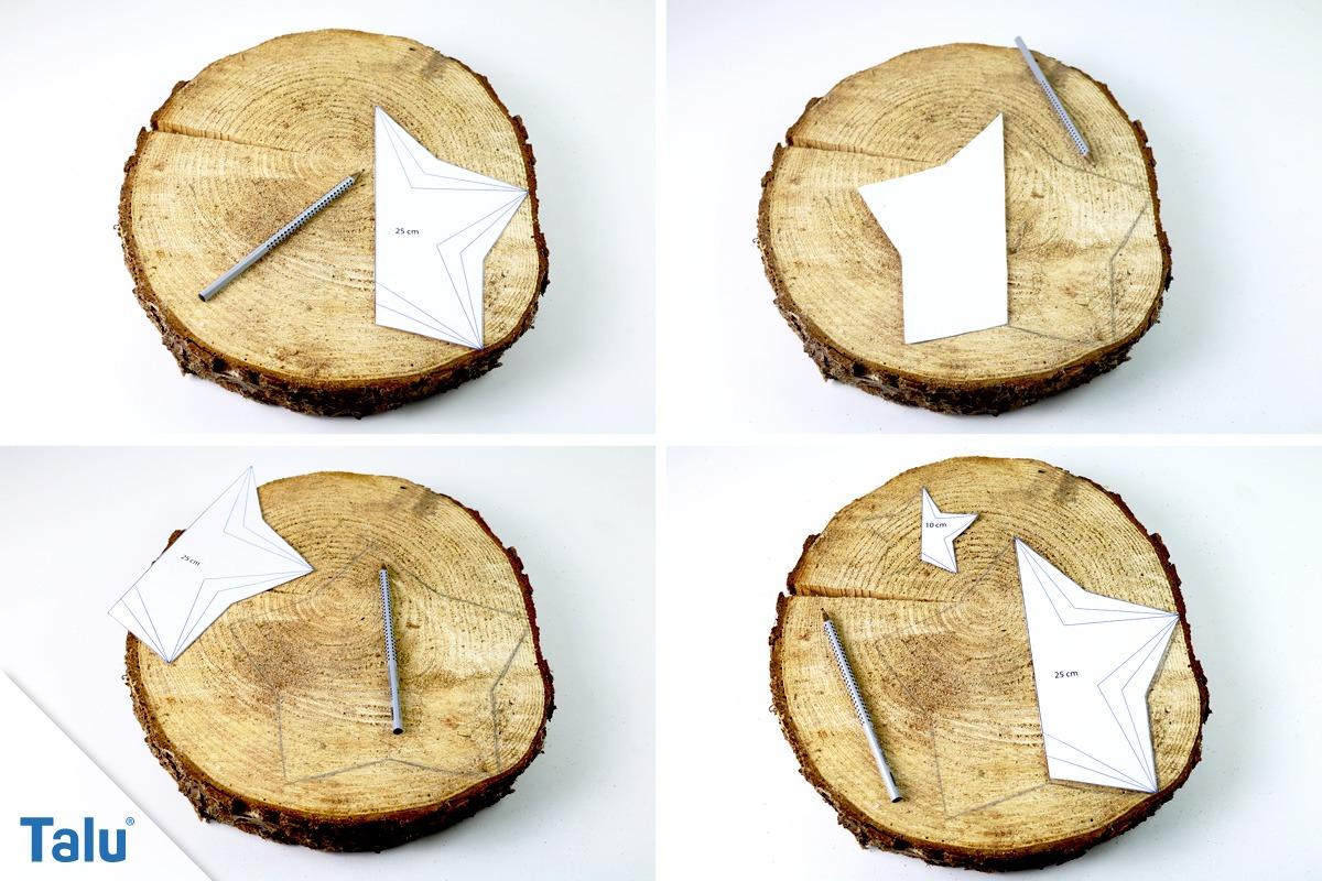 Basteln Mit Holz Baumscheiben 100 Astscheiben Holzscheiben