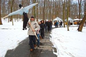 Святкування Масляної 5 березня 2011 року в Бухті Вікінгів працівниками компанії ІСТ-Захід