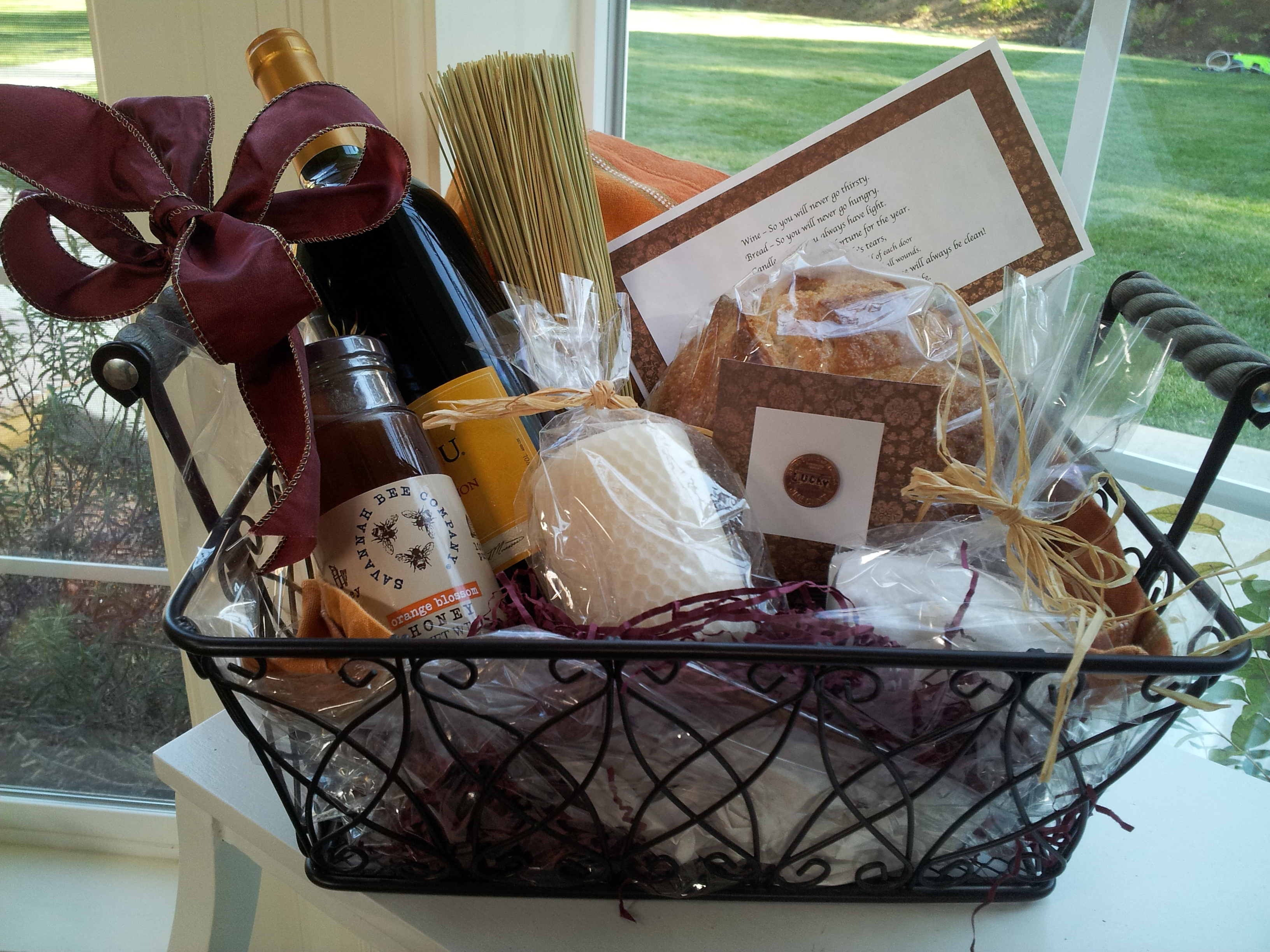 Best Gifts For New Homeowners Traditional Housewarming Gift Wine Bread Salt And A Broom