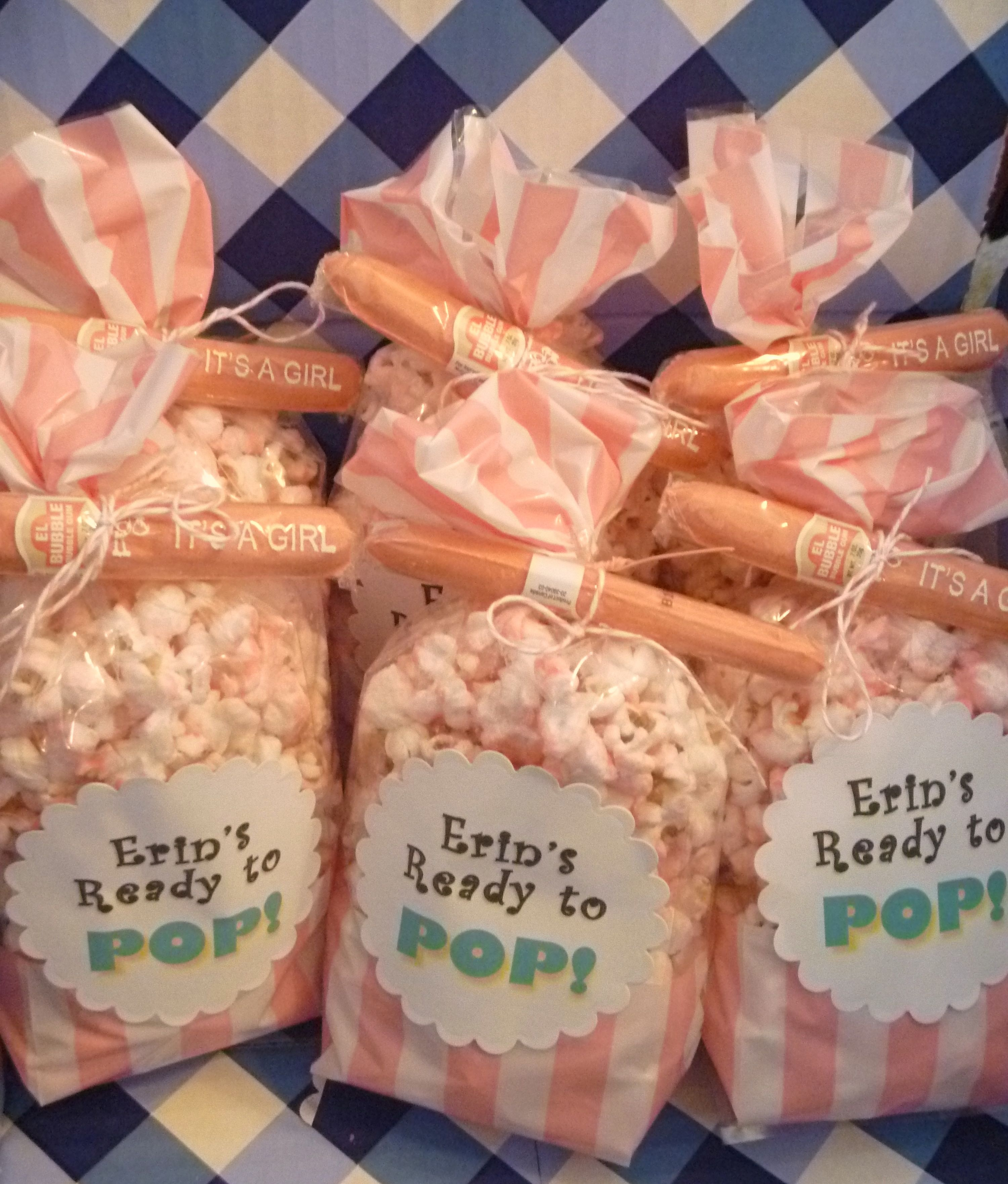 Indoor Finished Popcorn Delicious To Popcorn Baby Shower Favors Edible Baby Shower Favors To Make Baby Shower Favors To Make Yourself baby shower Baby Shower Favors To Make