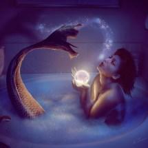 Mermaid bath 2