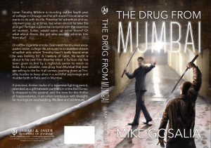 the bookcover made for Zharmae Publishing Press