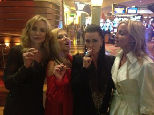 Taylor Armstrong Joins the Girls from RHOBH in Vegas