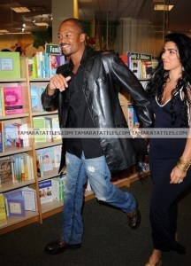 Jermaine Jackson Jr and Asa Soltan Rahmati at Andy Cohen's Book Signing at Sur.