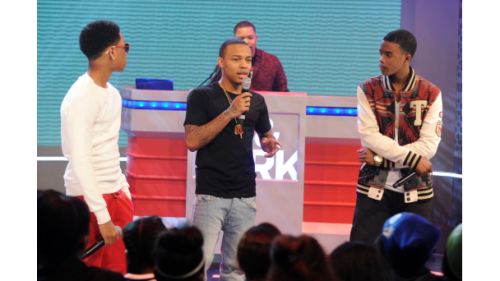 Here is Jacob, Bow Wow and Young Marqus on 106&Park