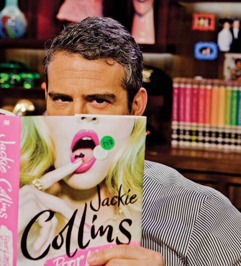 Andy Cohen Likes Books