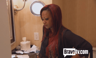 Bathroom Breakdown Kandi RHOA 2014  Atlanta