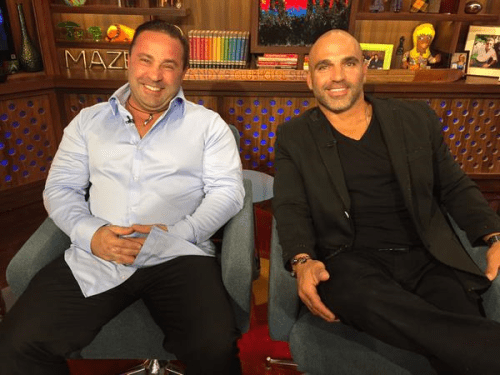 WWHL Joe Giudice Joe Gorga
