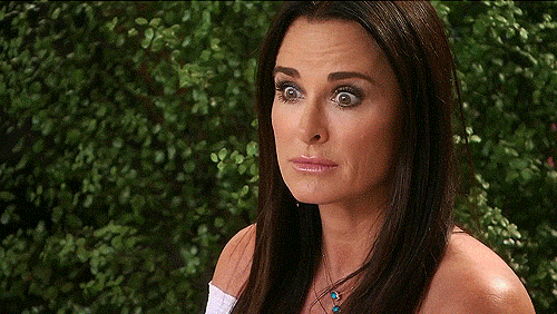 RHOBH Hamptons Kyle Eileen shocked faces
