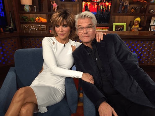 WWHL with Lisa Rinna and Harry Hamlin