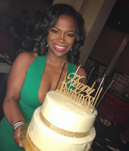 RHOA Kandi Burruss turns 40