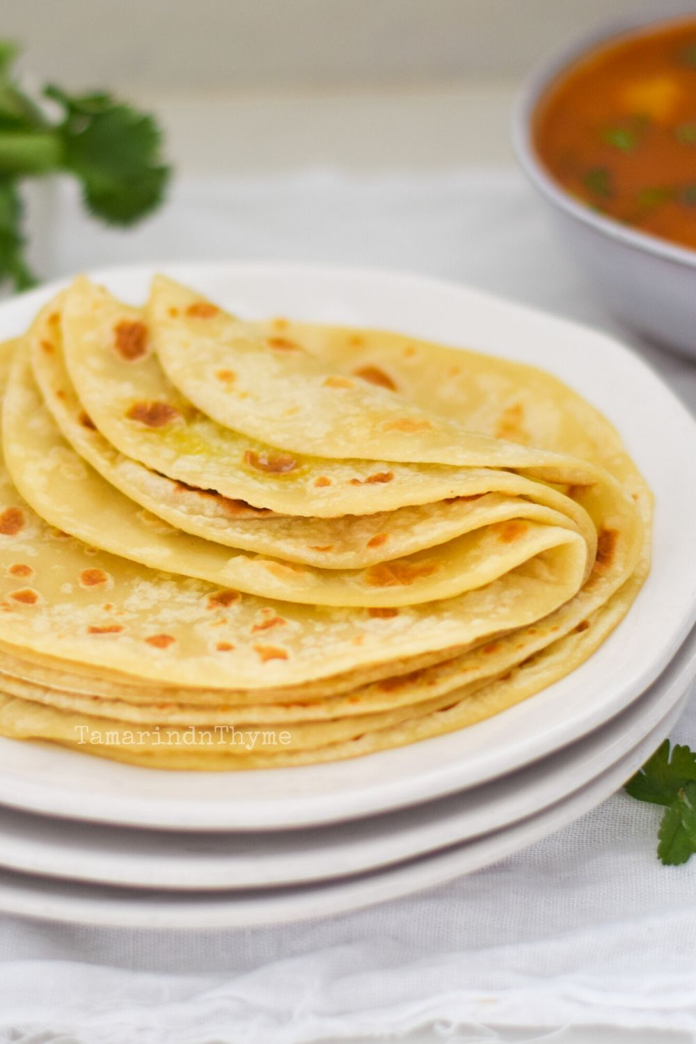 Soft Butter Rotis
