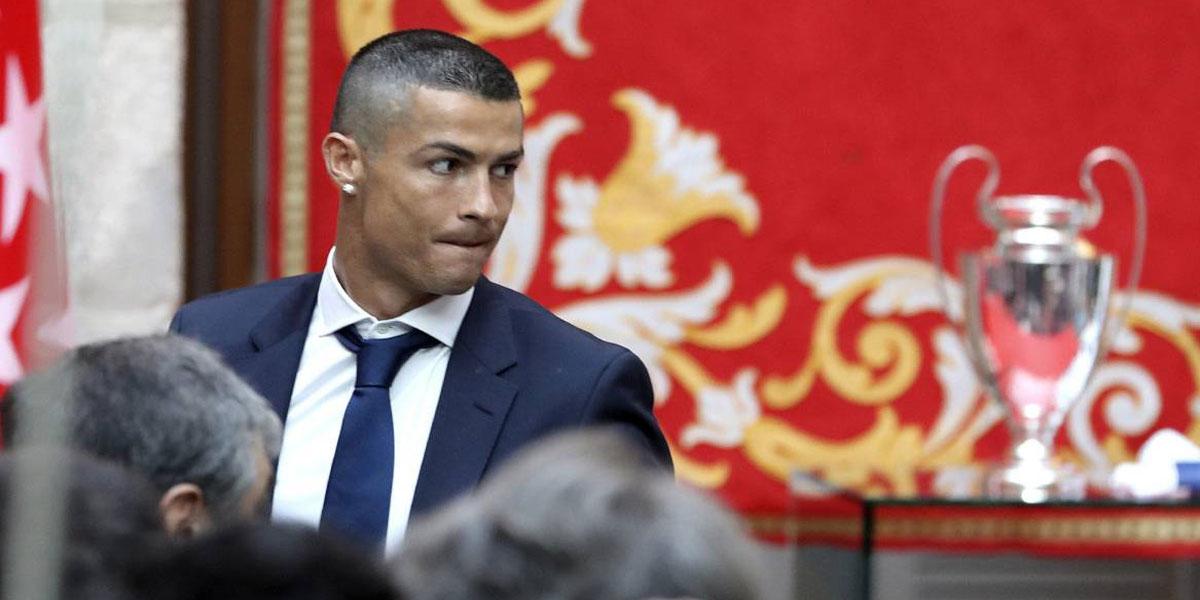 Cristiano Ronaldo fue denunciado por fraude fiscal