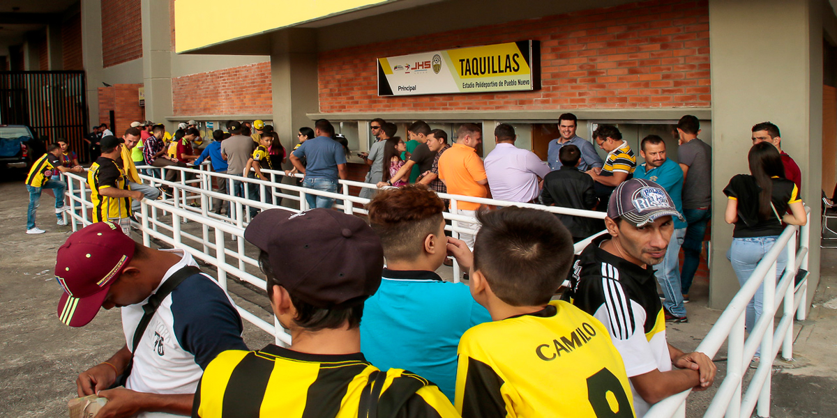 A la venta los boletos para el Deportivo Táchira vs Trujillanos