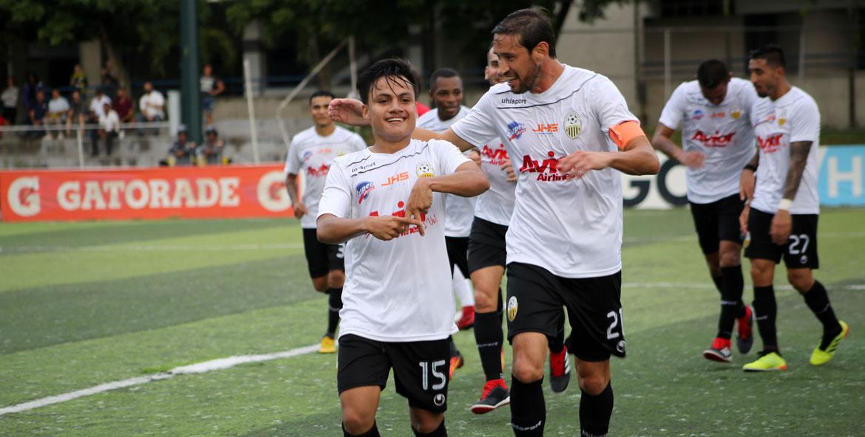 Cuatro juveniles Aurinegros debutaron este semestre con el equipo de Primera