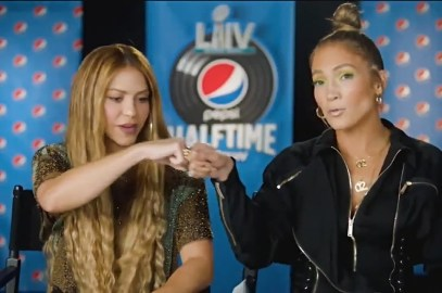 Shakira y JLO se preparan par el Super Bowl