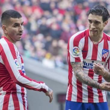 Correa y Vrsaljko, únicos jugadores con coronavirus