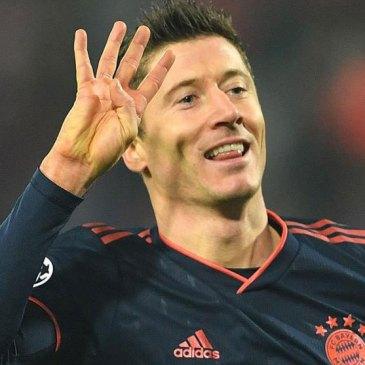 Lewandowski amenaza el récord de Cristiano Ronaldo