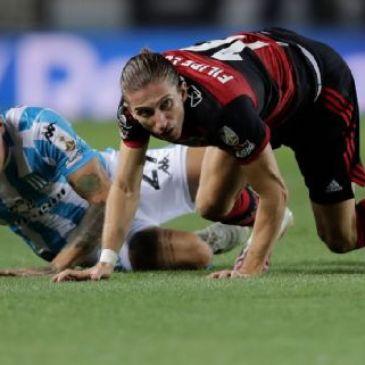 Racing y Flamengo empataron en el partido de ida de la Copa Libertadores