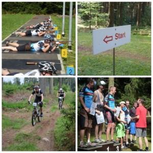 MTB-Biathlon-Nesselberg-Tambach-Dietharz-Thüringer Wald-Rennsteig