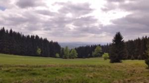 Rennsteig oberhalb von Tambach-Dietharz