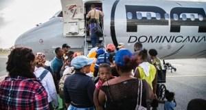 dominicanos regresan desde san martin