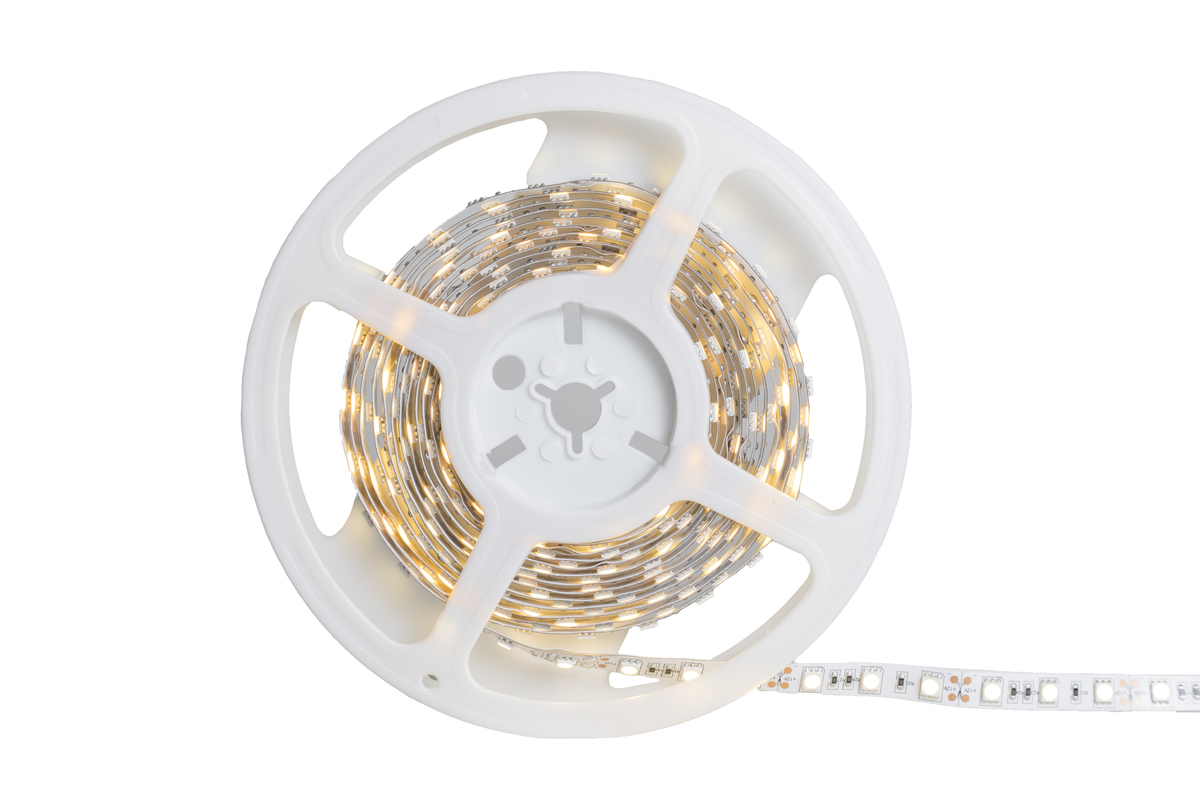Tira Led 12v Tira Flexible De Led Blanco Cálido 5050 Smd 12v 5