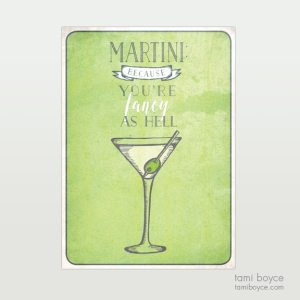 Martini, Fancy as Hell