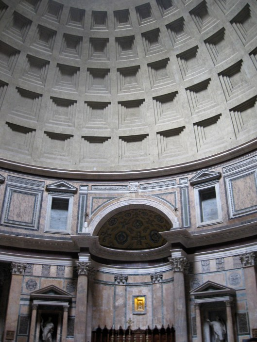 Pantheon interior, Rome, Italy