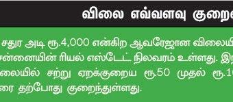 முகலிவாக்கம் பாதிப்புக்குப் பிறகு ரியல் எஸ்டேட் 'ரியல்' நிலவரம்!