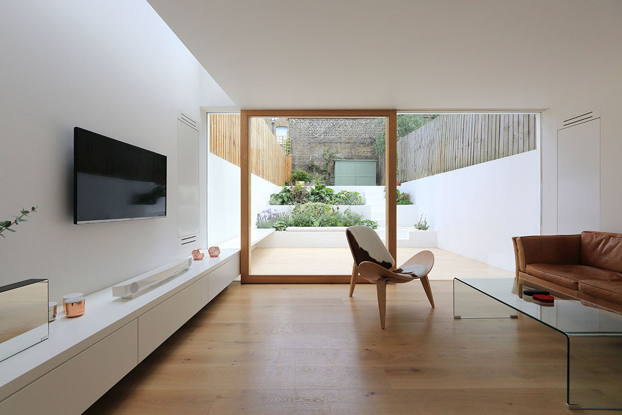 Kitchen Floor Higher Than Dining Room Extension To A Private House | Tamir Addadi Architecture