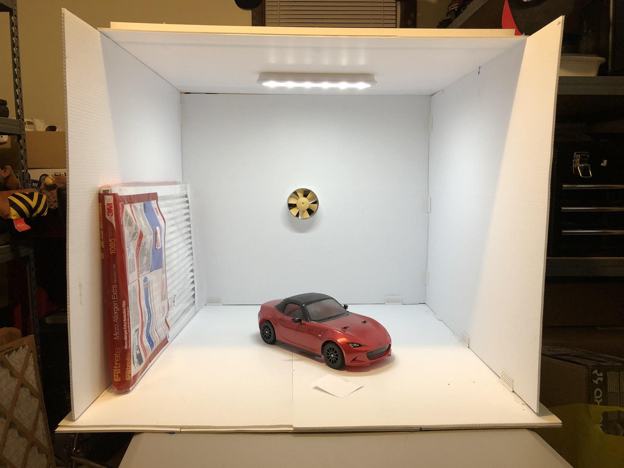 Diy Spray Booth Build Tips And Techniques Tamiyaclub Com